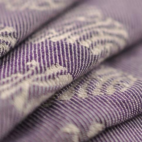Слинг-шарф YARO SLINGS Ukrainian Hearts Violet Wool (40 % шерсти мериноса) (3,6 м)