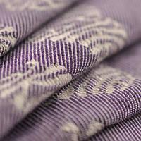 Слинг-шарф YARO SLINGS Ukrainian Hearts Violet Wool (40 % шерсти мериноса) (3,6 м), фото 1