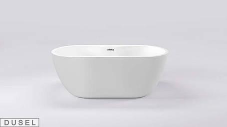 Окремо стоїть акрилова ванна Dusel Sarno 180х75х58, фото 2