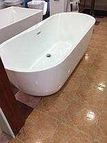 Окремо стоїть акрилова ванна Dusel Sarno 180х75х58, фото 3