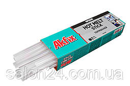 Клейові стрижні Akfix - 11,2 х 300 мм, прозорі (1 кг)