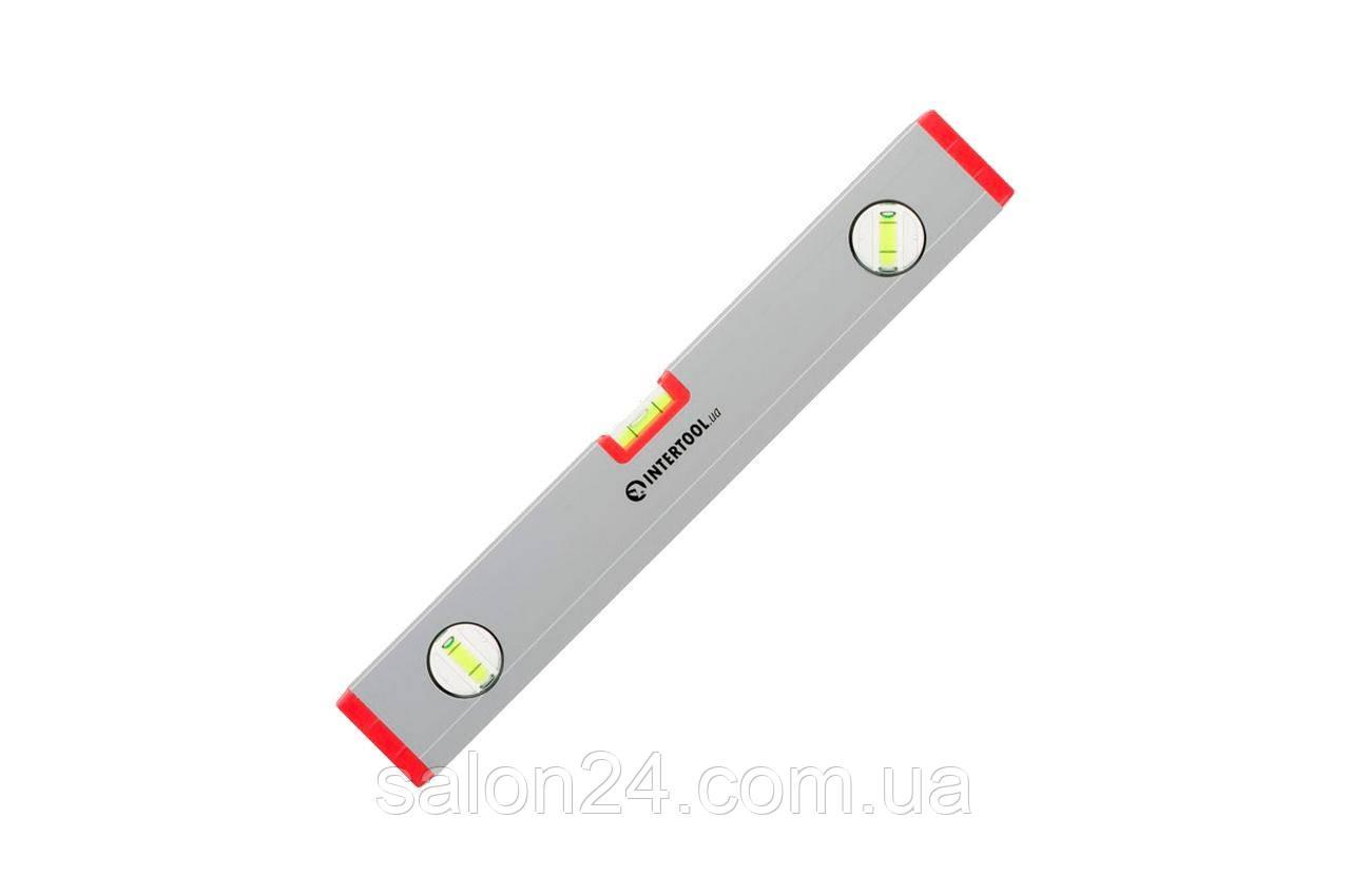 Уровень Intertool - 800 мм 3 глазка (22 x 59 мм) PROF