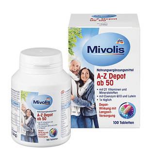 Вітамінний комплекс Mivolis DM Depot Ab-50 після 50 років, 100 шт.