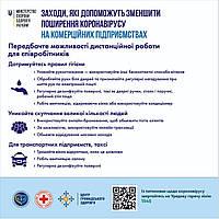 Плакат о противодействии вирусу, коронавирусу
