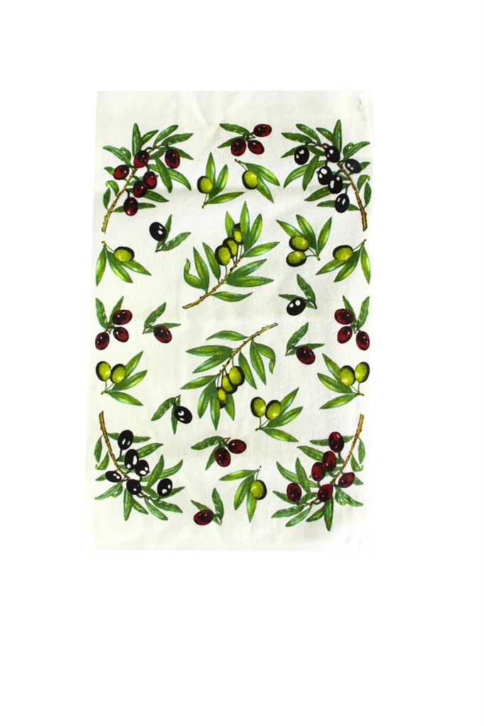 Полотенце кухонное Оливки  30x50 см. (46814)