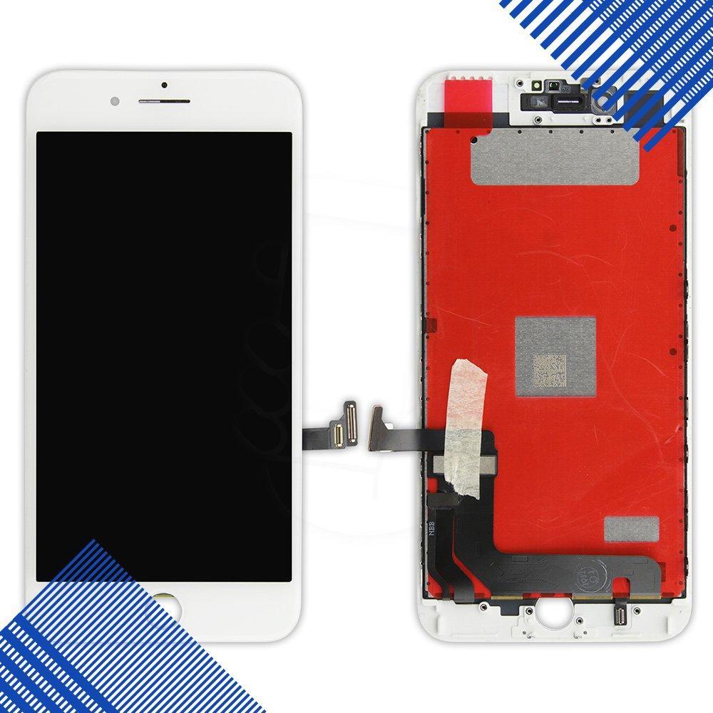 Дисплей iPhone 7 Plus с тачскрином в сборе, цвет белый, копия высокого качества