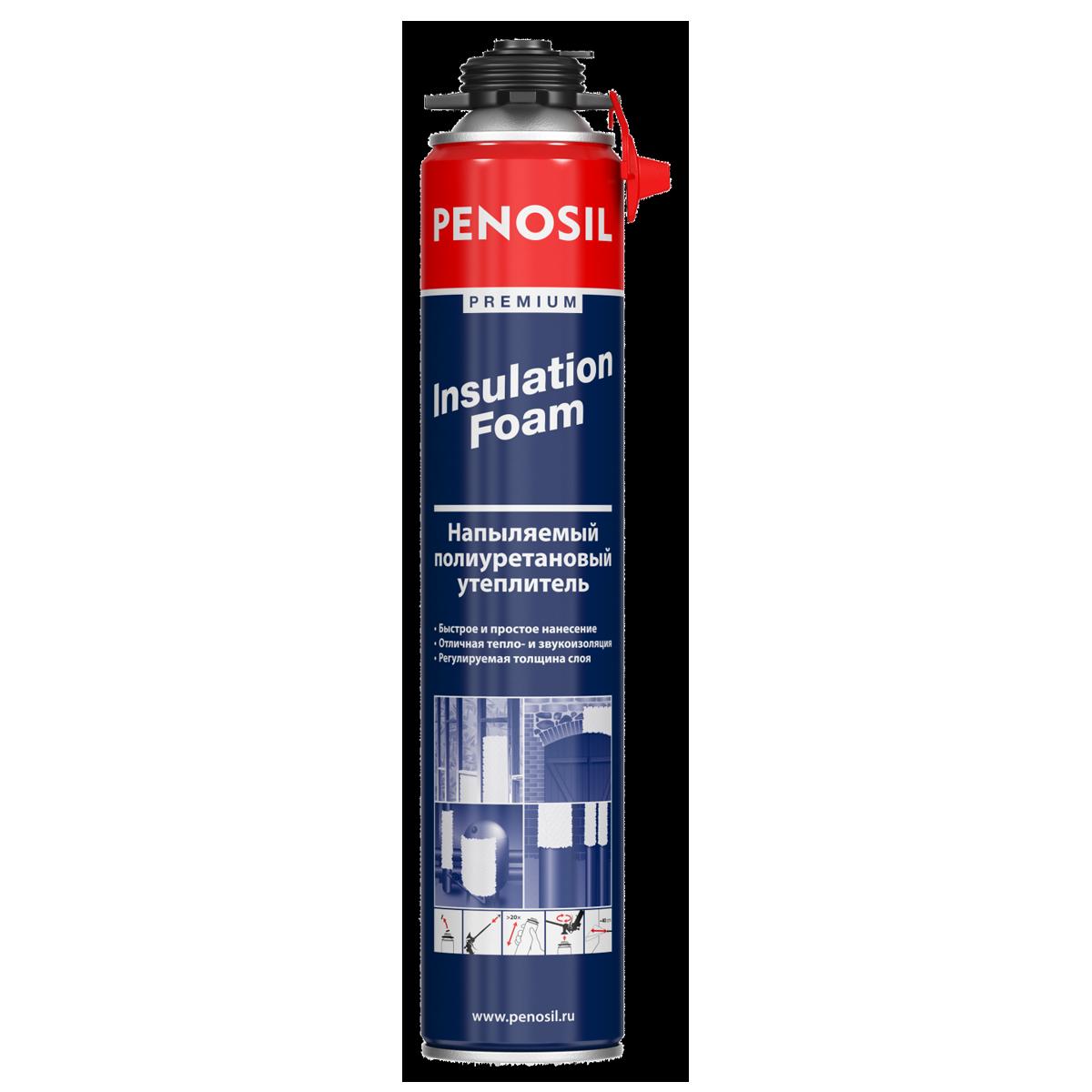 """Напыляемый пенополиуретан утеплитель в баллоне """"Penosil Premium"""""""""""