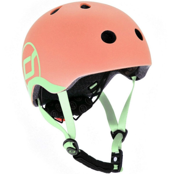 Scoot and Ride Детский защитный шлем персик Peach Kinder Fahrradhelm (S-M)