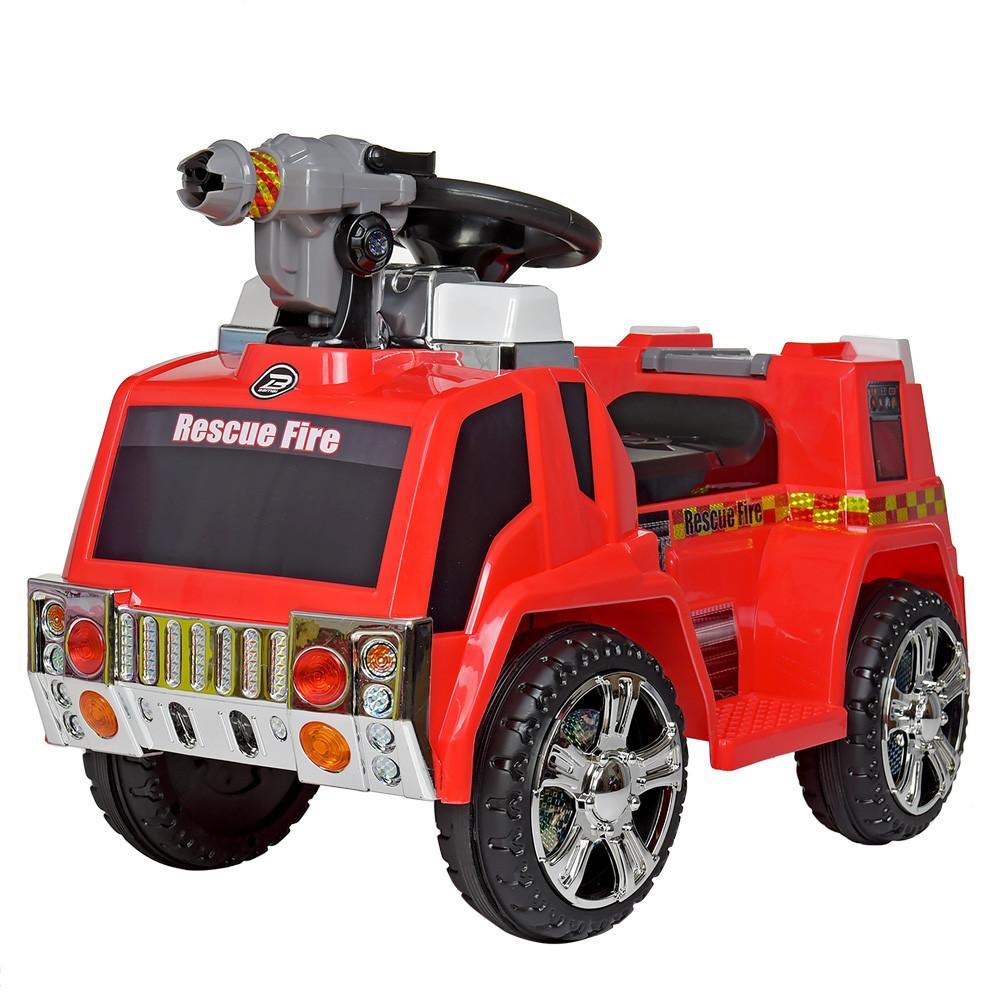 Детский электромобиль Bambi ZPV119AR-3 Пожарная машина красный