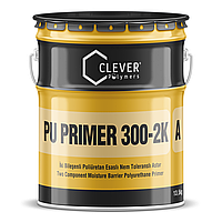 Влагостойкий двухкомпонентный полиуретановый грунт CLEVER PU PRIMER 300-2K (18 кг)