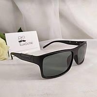 Стильные мужские солнцезащитные очки со стеклянной линзой