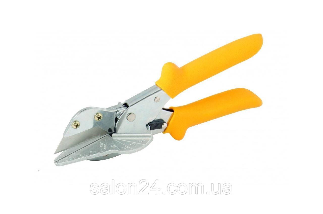 Ножницы для пластиковых профилей Mastertool - с транспортиром