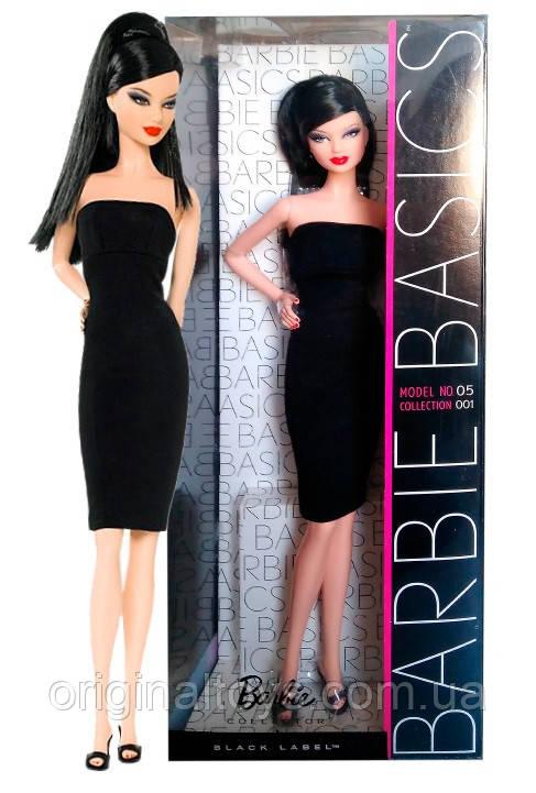 Коллекционная кукла Барби Базовая модель №5 Barbie Basics Model No. 05 Collection 001 Black Label Mattel