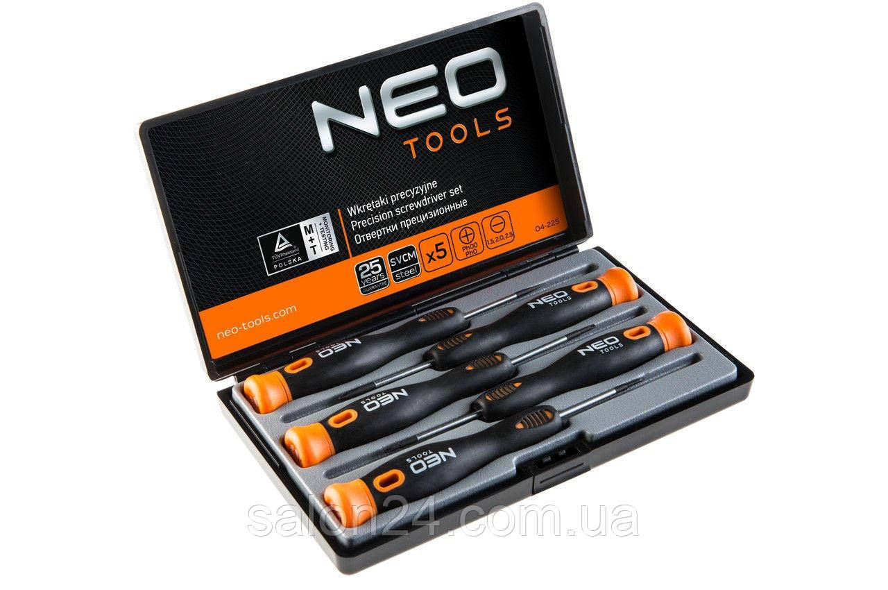 Набор прецизионных отверток NEO - 5 шт.