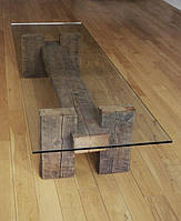 Журнальный стол из дерева ручной работы