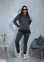 Женский спортивный батальный костюм на весну размеры 48-58 арт 5303