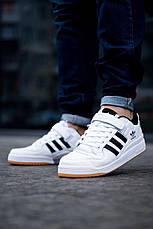 Кроссовки Adidas Forum Mid (белые), фото 2