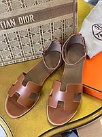 Модные сандалии Hermes (реплика), фото 1