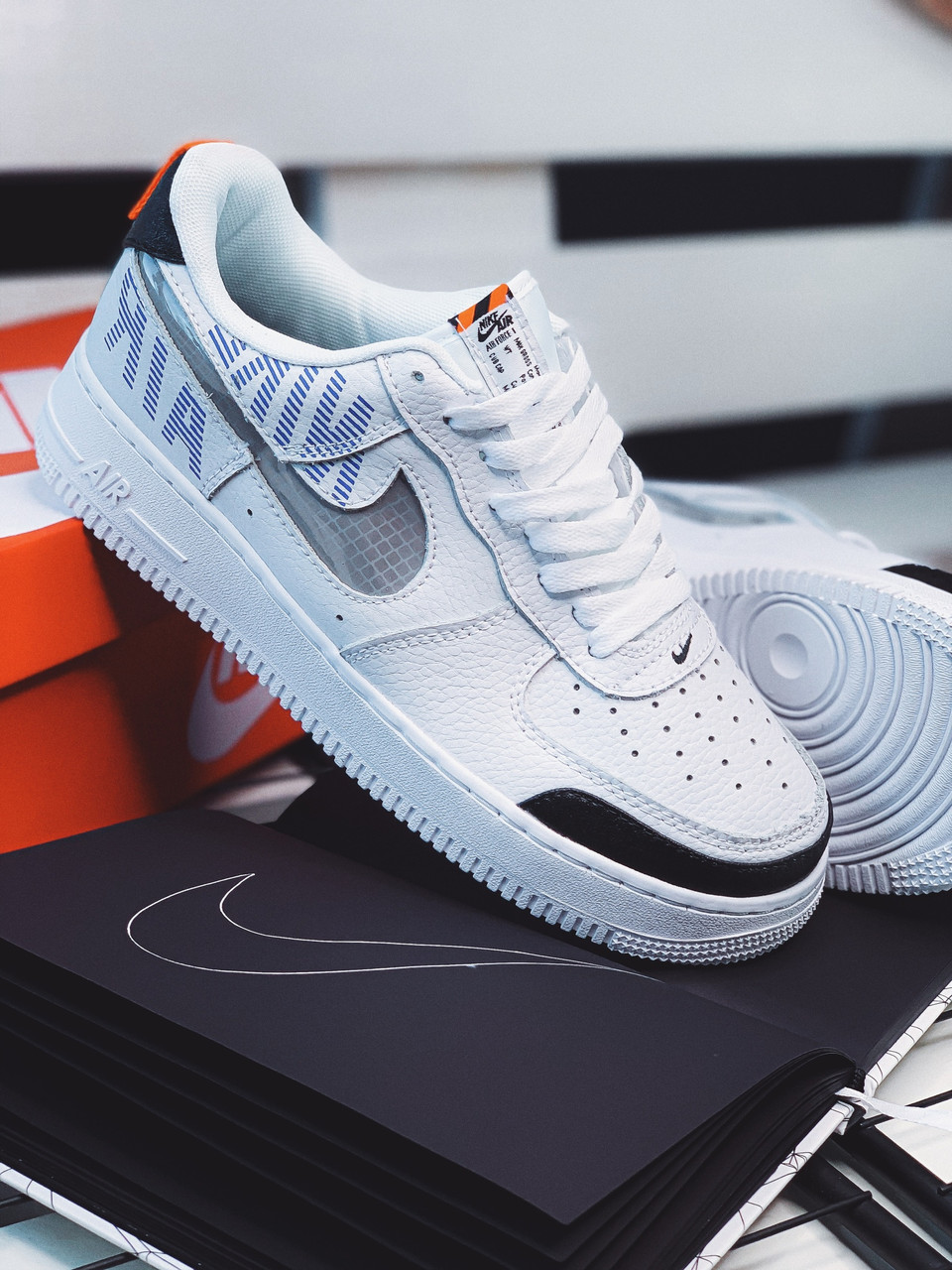 Кроссовки Nike Air Force Fragil white