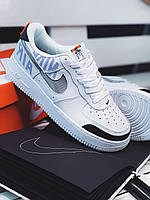 Кроссовки Nike Air Force Fragil white, фото 1
