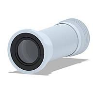 ANI PLAST ГИБКАЯ ТРУБА (К928) ДЛЯ УНИТАЗА D-110 ММ ДЛИНА 230 ММ-500 ММ