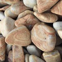 """""""Галька ОК"""" песчаник светло-рыжий 5-20 мм., фото 1"""