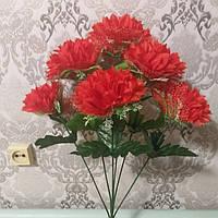 """Искусственные цветы """"хризонтема с фатином"""", фото 1"""