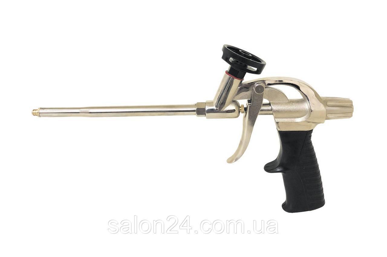 Пистолет для пены Mastertool - 335 мм тефлон держатель, игла PROF