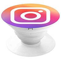 Тримач для телефонів та гаджетів Popsocket Instagram Універсальний (R0047)