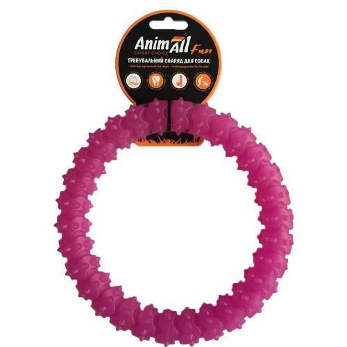 Игрушка AnimAll Fun кольцо с шипами, фиолетовый, 20 см