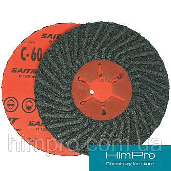 SAITRON d125 C60 Шлифовальный абразивный полужесткий диск
