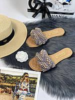 Стильные шлепанцы Шанель (реплика), фото 1