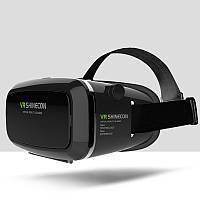 Очки виртуальной реальности VR SHINECON c пультом Черный (R0090)