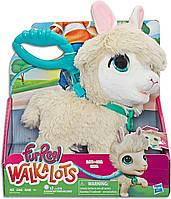 Furreal Friends Интерактивный питомец Лама на поводке от Hasbro FurReal Big Wags Llama, фото 1