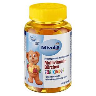 Мультивітаміни для дітей Mivolis у формі ведмедиків