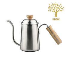 Чайник для кави з довгим носиком 650 мл Альтернативне заварювання