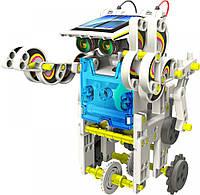 Конструктор робот на солнечных батареях Solar Robot 14 в 1 Белый (R0240)