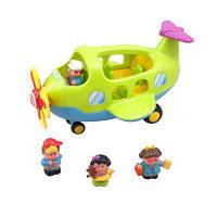 Развивающая игрушка Kiddieland Самолёт-путешественник (056895)