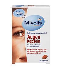 Комплекс Mivolis Augen с лютеином для зрения, 30 шт.