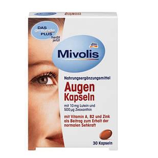 Комплекс Mivolis Augen з лютеїном для зору, 30 шт.