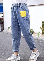 Джинси для дівчинки, стильні прямі джинси / джинсы для девочки, стильние модние весенние джинсы прямые