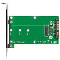 Контроллер SATA to M.2 (NGFF) B-key SSD 22*42, 22*60, 22*80 mm Maiwo (45776)