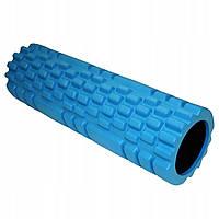 Ролик массажный для йоги 30 см Голубой (RI0340)