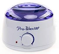 Воскоплав баночный PRO-WAX 100 с терморегулятором 400 мл Белый (RI0370)