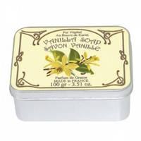 Натуральное мыло в жестяной упаковке Le Blanc Ваниль 100 г (97402)