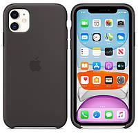 Чехол силиконовый для iPhone 11 Черный (R0419)