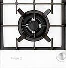 Варочная поверхность газовая BORGIO 6272-18 (White Glass) FFD, фото 3