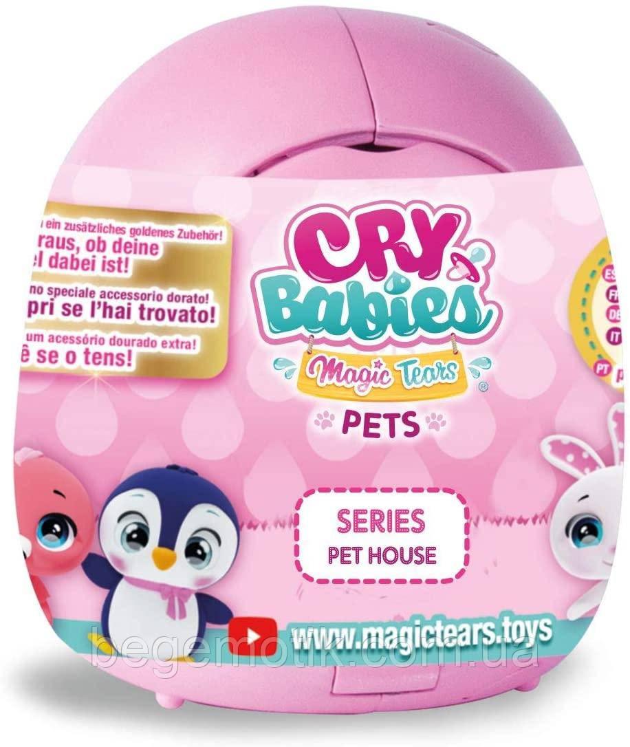 IMC Toys Cry Babies плачущий Питомец сюрприз в домике Край беби Magic Tears Pet House (91085)