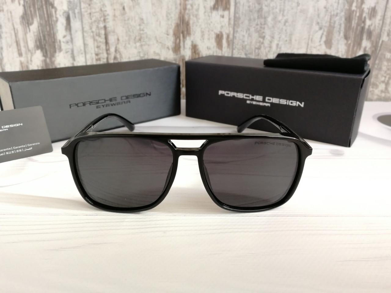 Мужские брендовые солнцезащитные очки с поляризацией Porsche Design