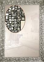 Зеркало в багетной раме для ванной, спальни, коридора